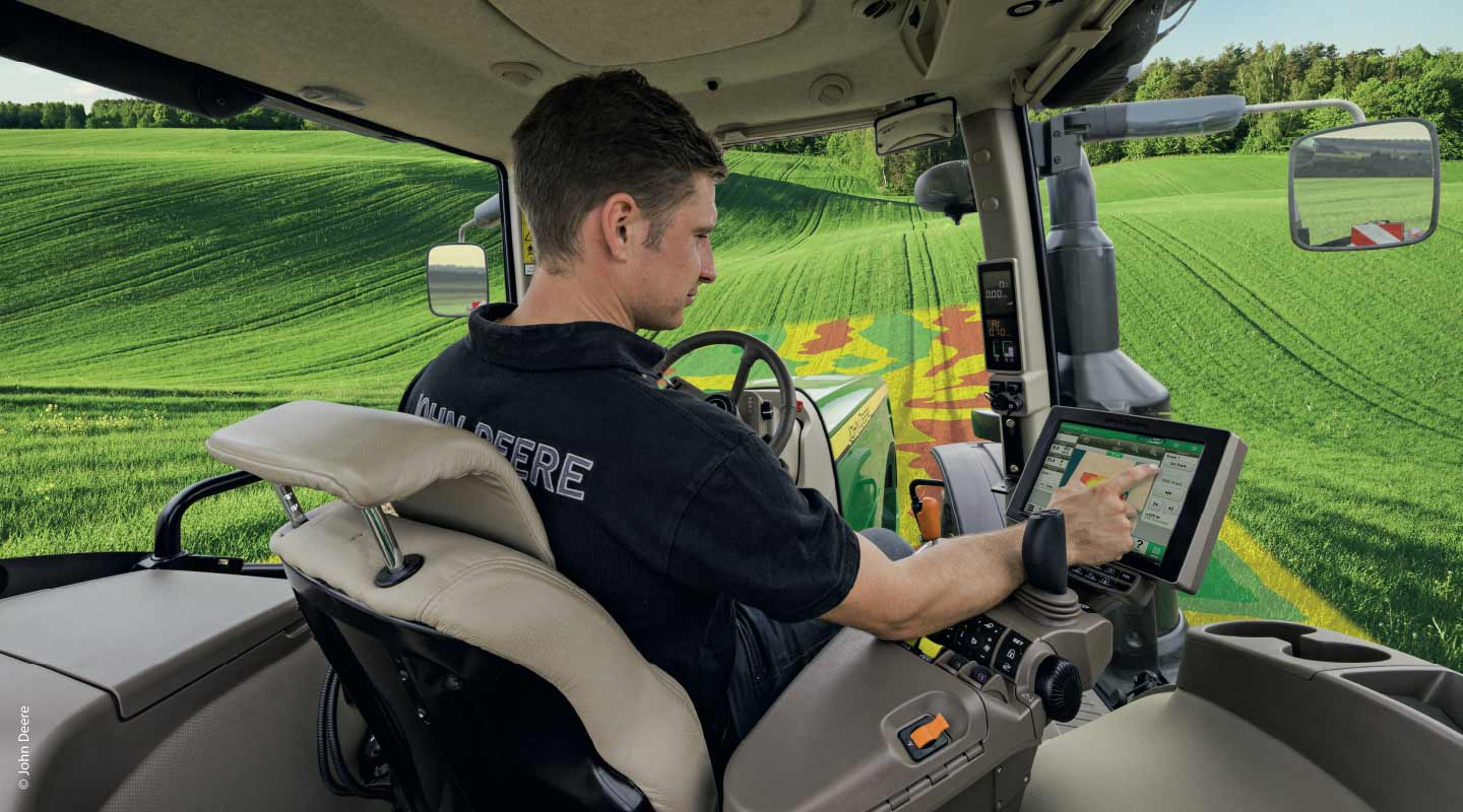 Farmstar, Modulation automatique - John Deere